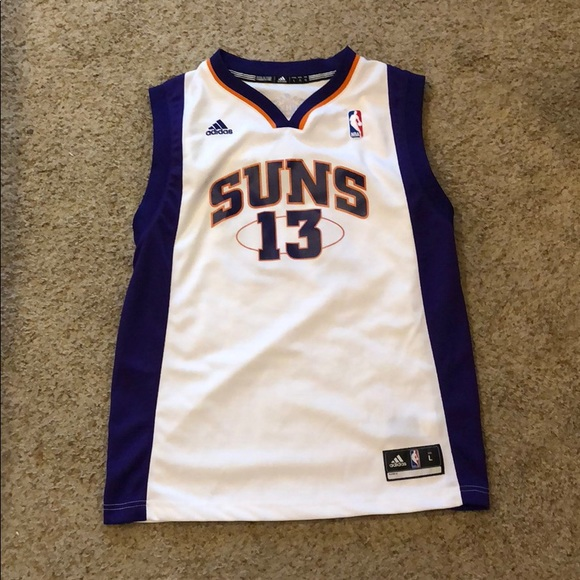 quality design 47c3f 3c632 VINTAGE Phoenix Suns Steve Nash Youth Large Jersey